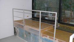 Podeste für ebene Flächen mit Umgang und als Stauraum