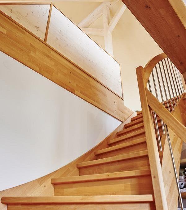 Der neue Treppenaufgang
