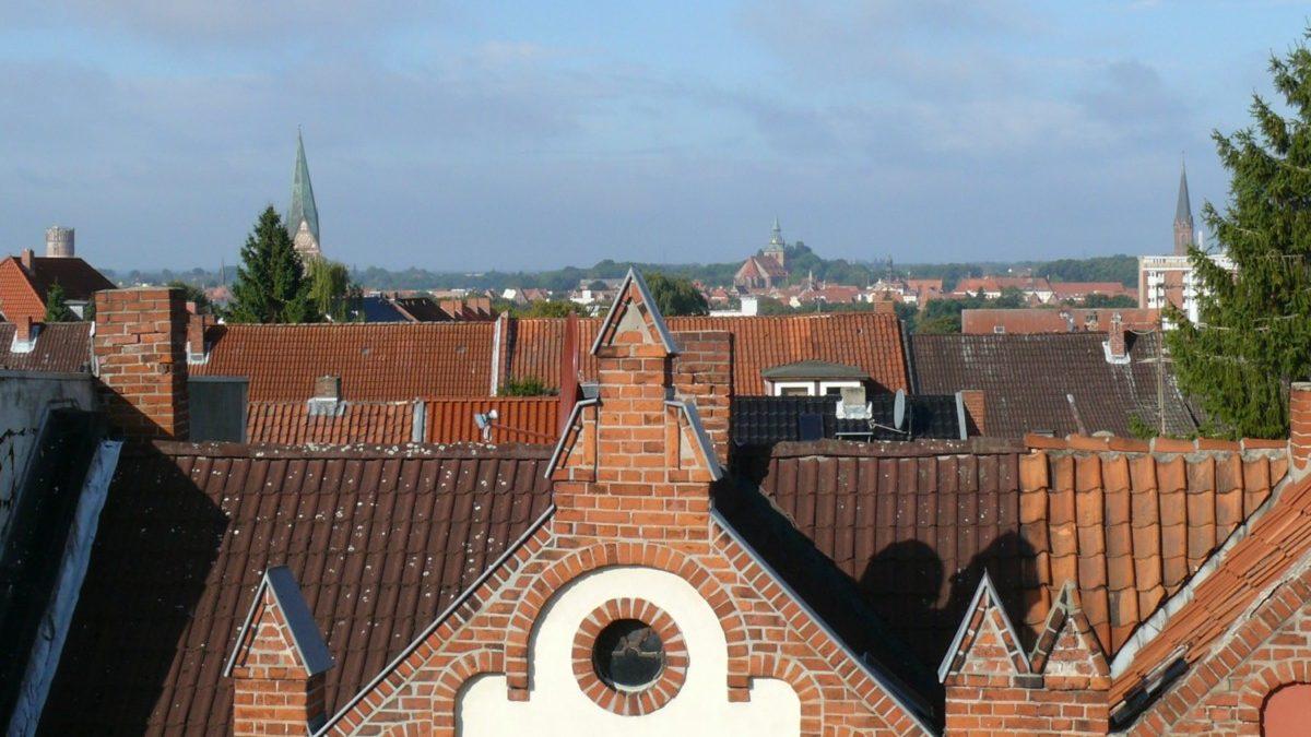 Der Blick über die Stadt....