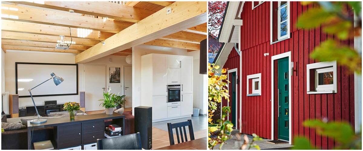 Ein Schwedenhaus mit Pfiff